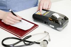 Kasa fiskalna Posnet Mobile EU - Posnet Mobile EU w gabinecie lekarskim