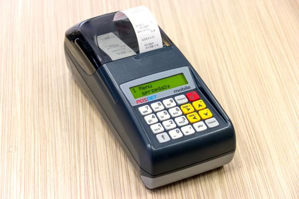 Kasa fiskalna Posnet Mobile EU - Mała, wytrzymała na uszkodzenia mechaniczne, kasa