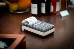 Kasa fiskalna Posnet Mobile HS EJ - Posnet Mobile HS EJ w restauracji
