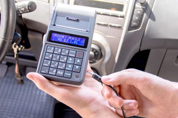 Kasa fiskalna Posnet Mobile HS EJ - Drukuje paragony bez podłączenia do prądu